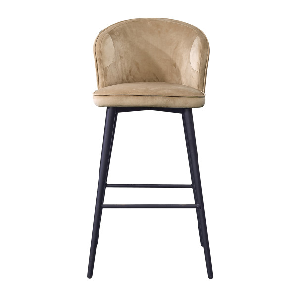 Henri Bar Stool (Light Brown)
