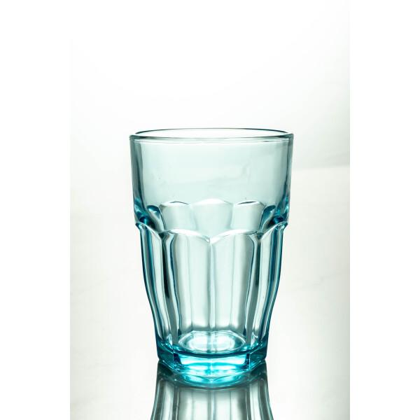 Rock Bar Lounge Long Drink Glass 370ml (Ice Blue)
