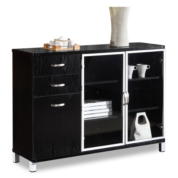 Andison Display Cabinet (Black)