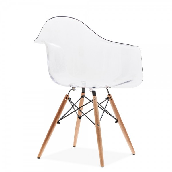 eames replica designer arm chair clear furniture