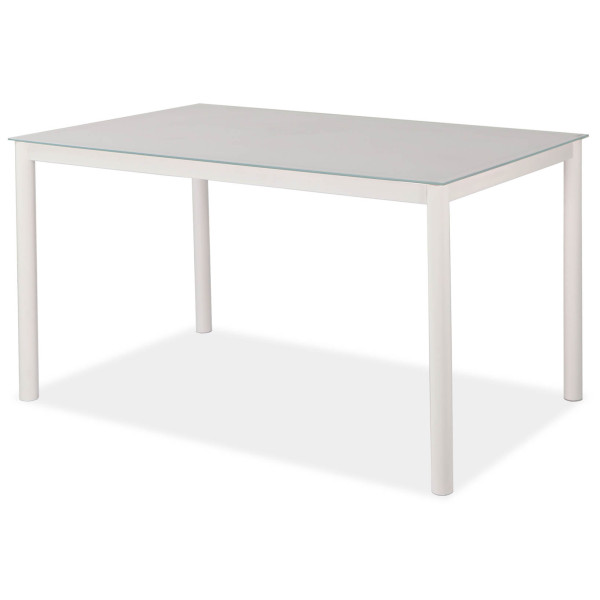 Elevar Dining Table White