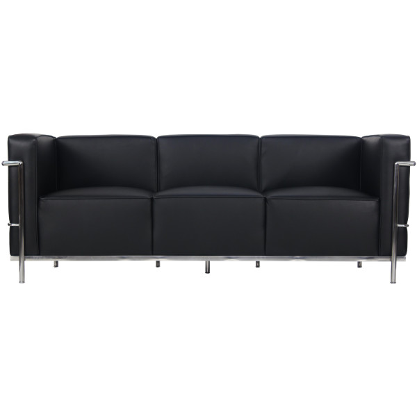 Barade 3 Seater Pu Leather Sofa