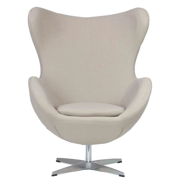 Egg Replica Chair (Cream)