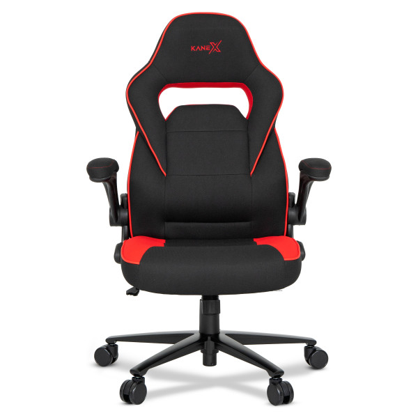 Kane X Professional Gaming Chair - Argus (Red Fabric)