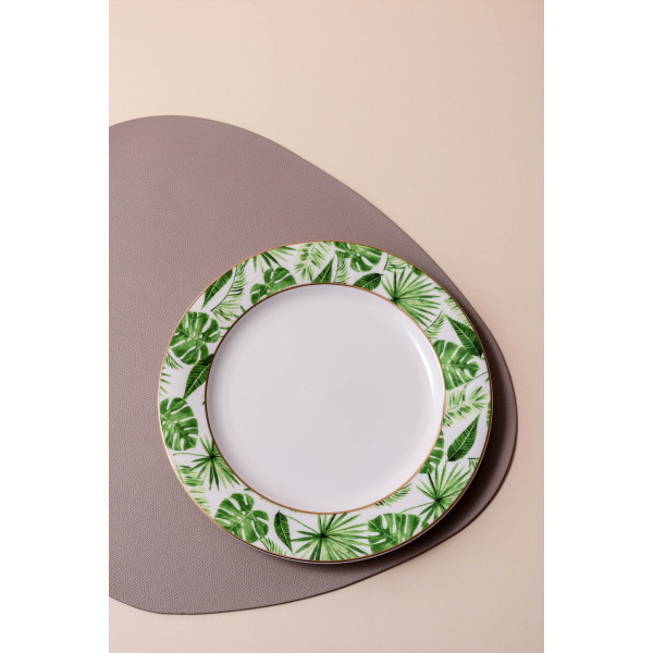 Auroth II Large Dinner Plate (Green)