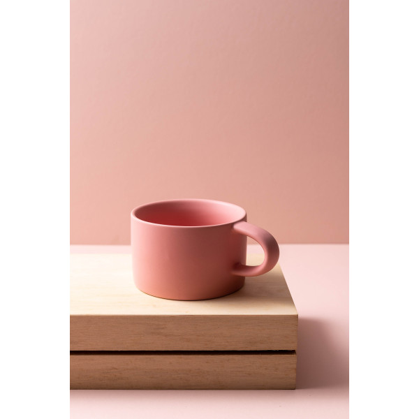 Jove Coffee Mug (Rose Pink)