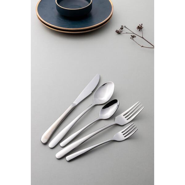 Jensen 5-Piece Cutlery Set (Silver)