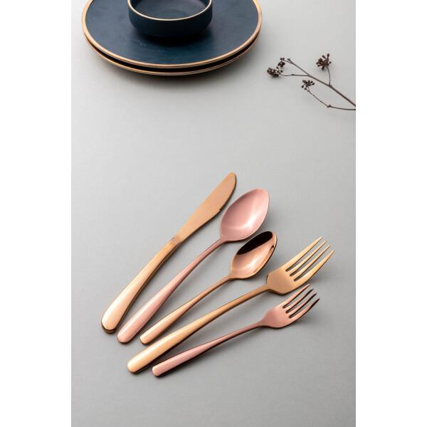 Jensen 5-Piece Cutlery Set (Copper)