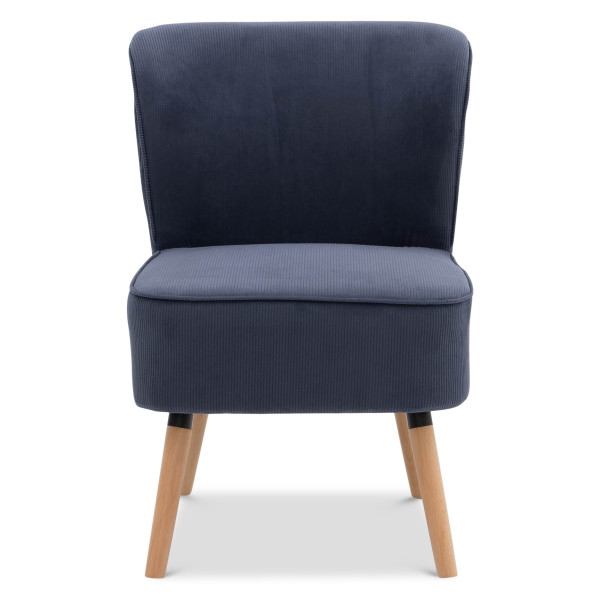 Gwyn Armchair (Navy Blue)