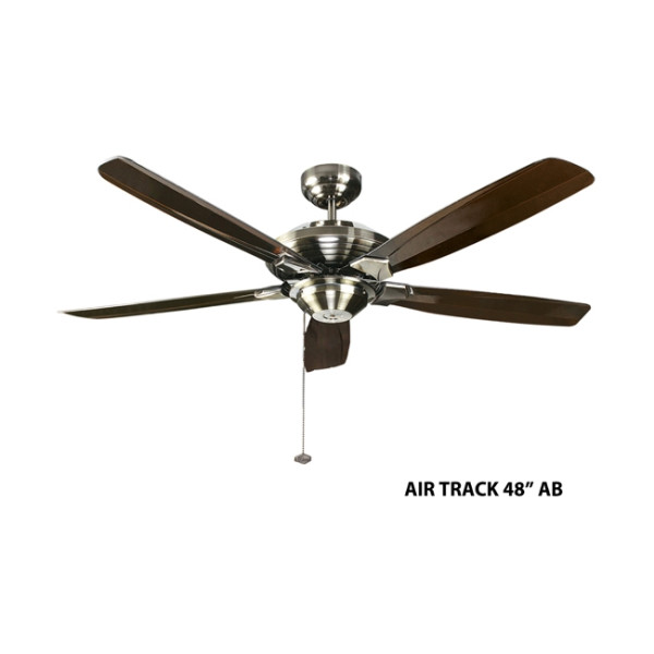 Fanco Air Track 48 Inch Ceiling Fan in Dark Oak