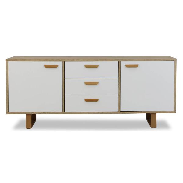 Amari Side Cabinet (White)