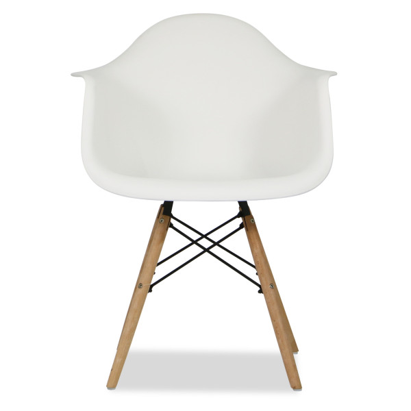 Eames Replica Arm Chair (White)