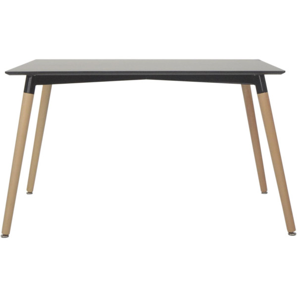 Vincente Dining Table-Black (Medium)