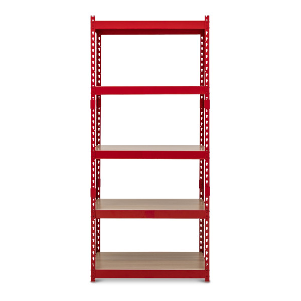 Bardrick Med Open Shelves (Red)
