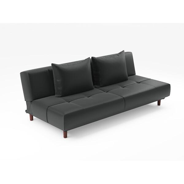 Pvc Bed: Sweden Sofa Bed (PVC Black)