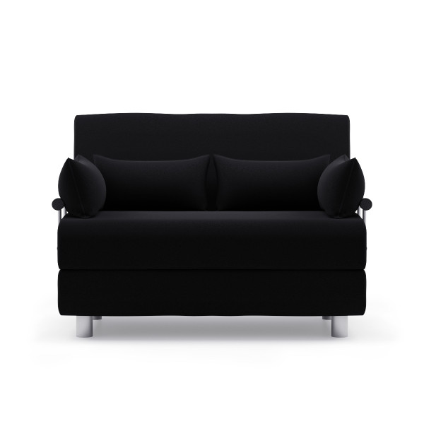 Rolly Sofa Bed (Fabric Black)