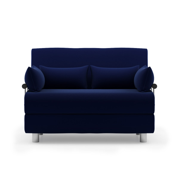 Rolly sofa bed fabric blue furniture home d cor for Sofa bed singapore