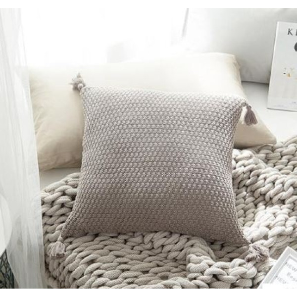 Amey II Cushion (Dark Grey)