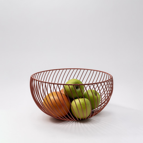 Leif Fruit Basket M (Red Clay)