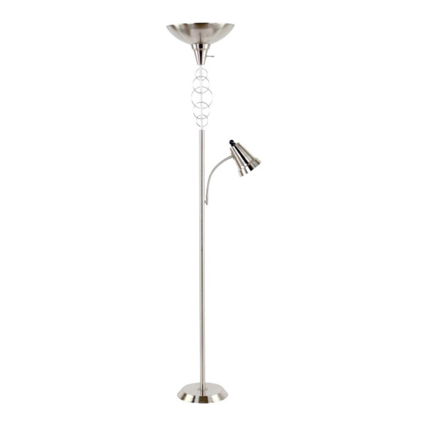 Legacy home halo torchiere floor lamp cf09071bs