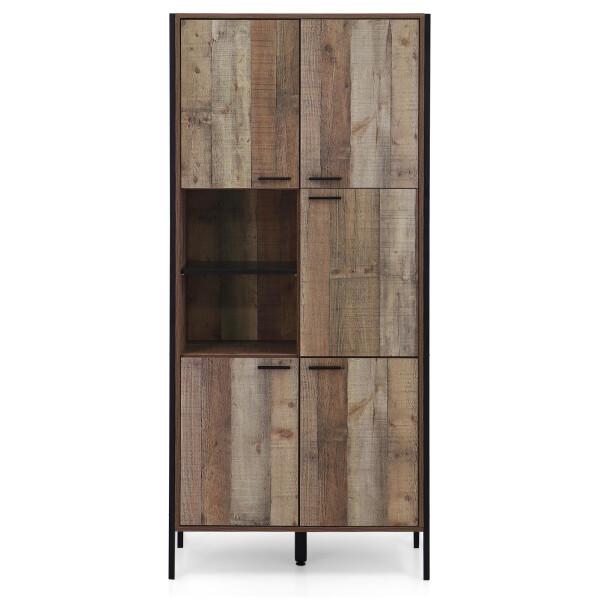 Myro 5 Doors Storage Cabinet