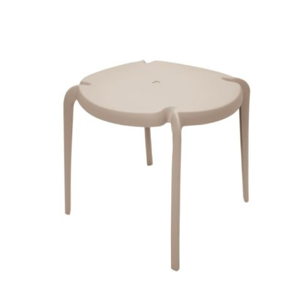 Clarice Table Warm Grey