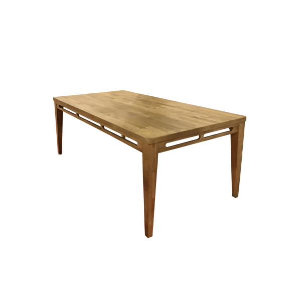 Philos - Pleat Solid Oakwood Dining Table (TD1701SO-L180)