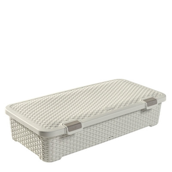 Style Roller Box 42L Off White