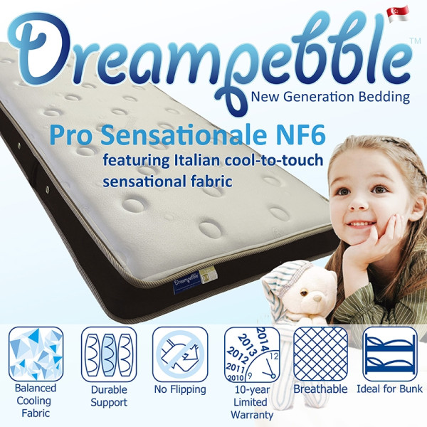 Dreampebble Pro Sensationale NF6 Mattress