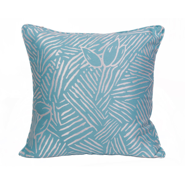 Abstract (Blue) 45 x 45cm Cushion with Fill