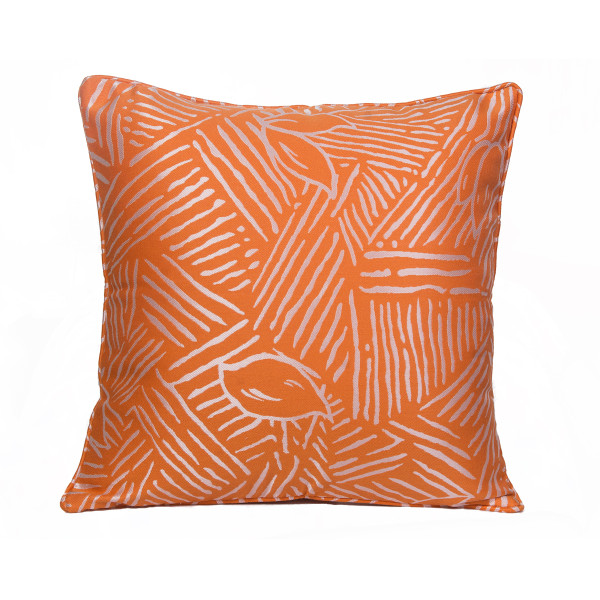 Abstract (Orange) 45 x 45cm Cushion with Fill
