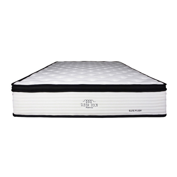 Elite Plush Pocketed Spring Queen Size Mattress by Sleep Tech™