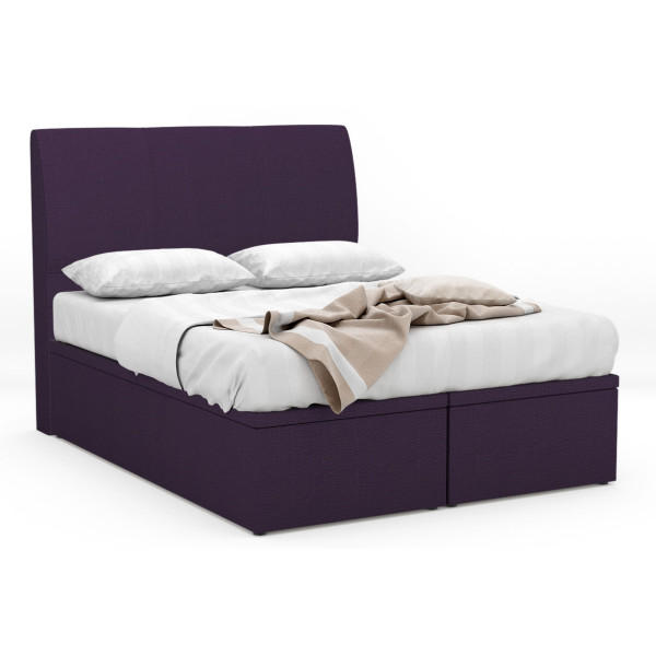 Ezequiel Fabric Storage Bed Frame