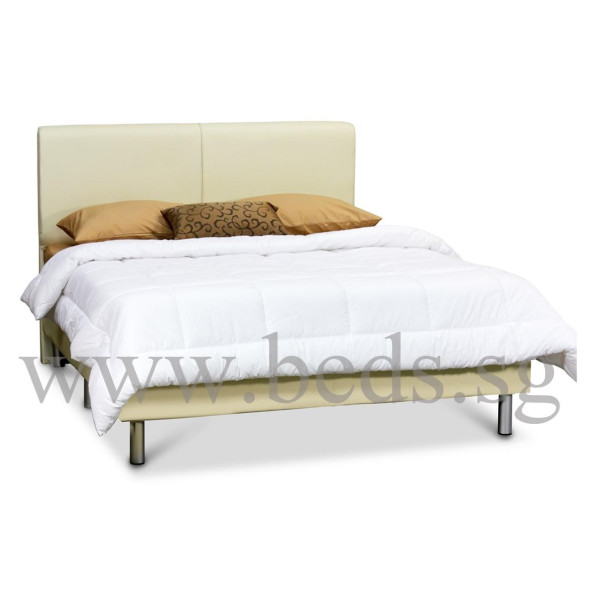 from uk fully assembled bed furniture leather royal with real thebedroomplace co asp swan bedroom delivery by p frame