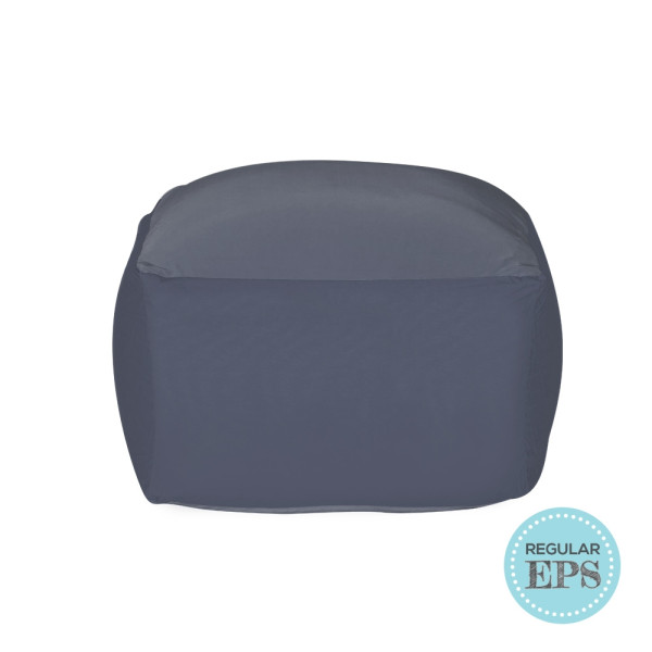 Flexa spandex bean bag by SG Beans (Grey, Regular EPS beans filling)