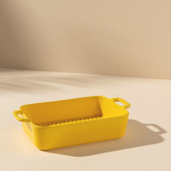 Bess Deep Baking Dish (Yellow)