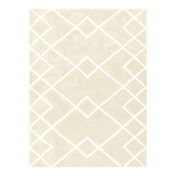 Dylis Tufted Carpet (Cream/White)
