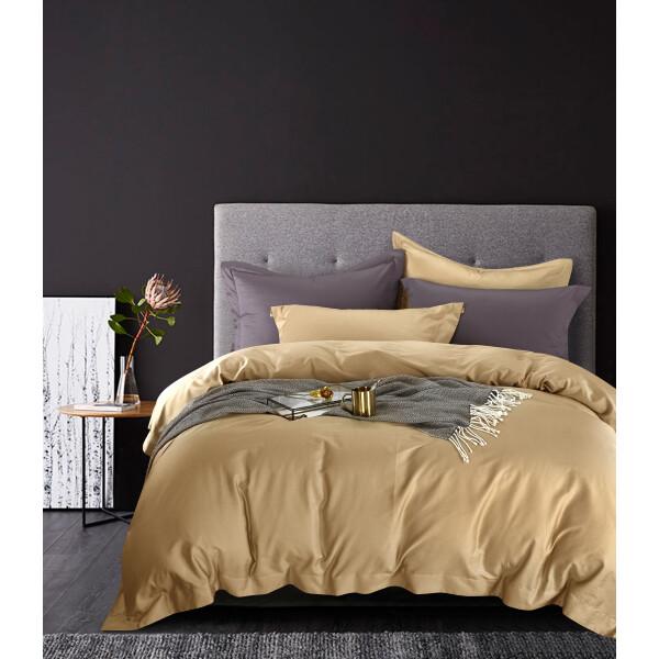 FyneLinen 100% Pima Cotton 900TC Bed Set (Champagne)
