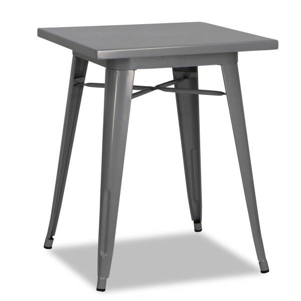 Tolia Metal Bistro Table in Grey