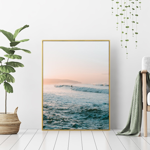 Idea of Paradise - Wall Art Print with Frame