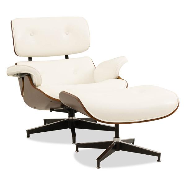Jacob Lounge Chair (White)