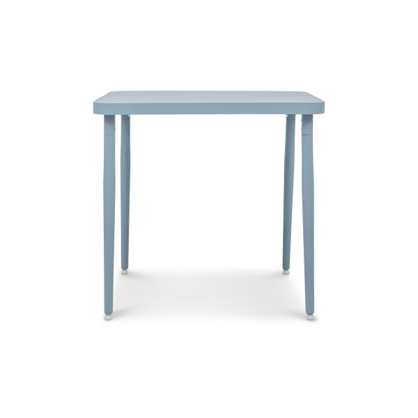 Madie Square Dining Table in Turquoise