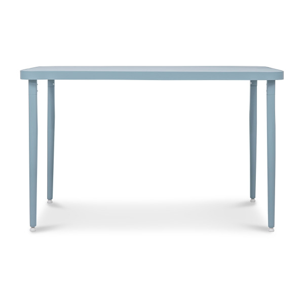 Madie Rectangular Dining Table in Turquoise