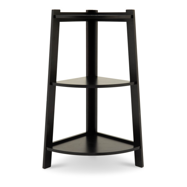 ToughFlex 3 Tier Storage Shelves Stand (Black)