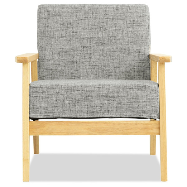 Hans 1 Seater Sofa (Granite)