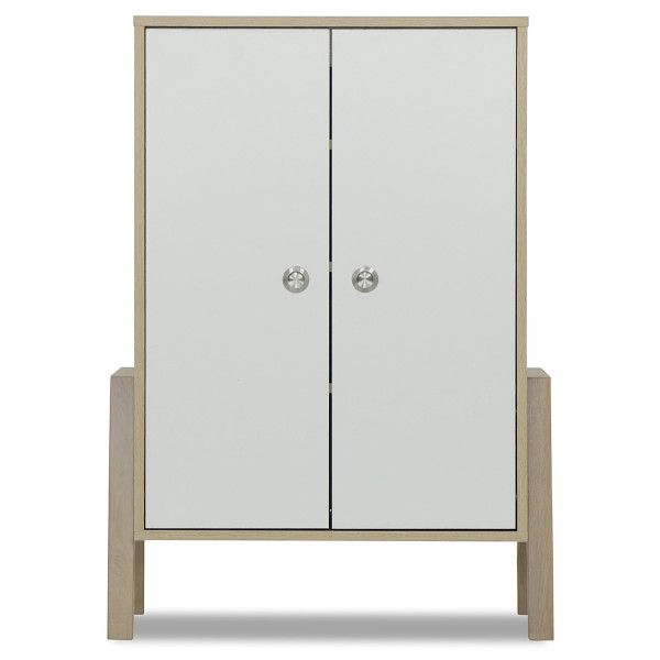 Chiso 2 Doors Shoes Cabinet Furniture Home Décor Fortytwo