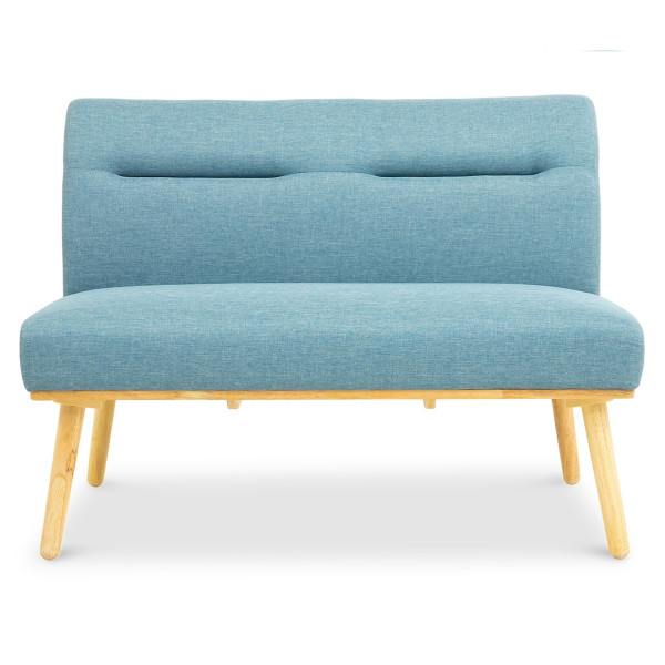 Posti 2 Seater Dining Sofa (Blue)