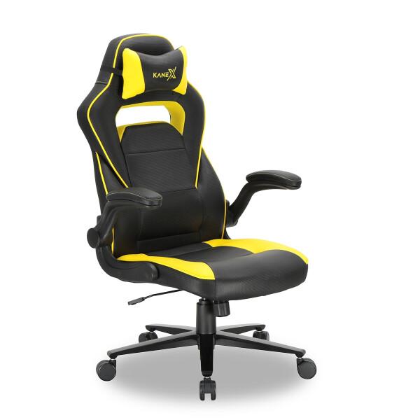 Kane X Professional Gaming Chair - Argus (Yellow)