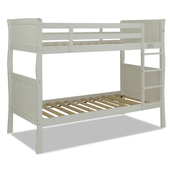 Ivy Wooden Bunk Bed White
