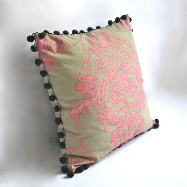 Giverny Rose Pillow 2